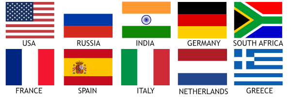 Apostille Flags
